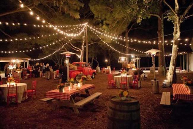 Een vintage outdoor wedding