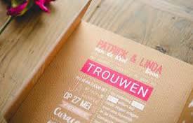 Huwelijksuitnodigingen West Vlaanderen