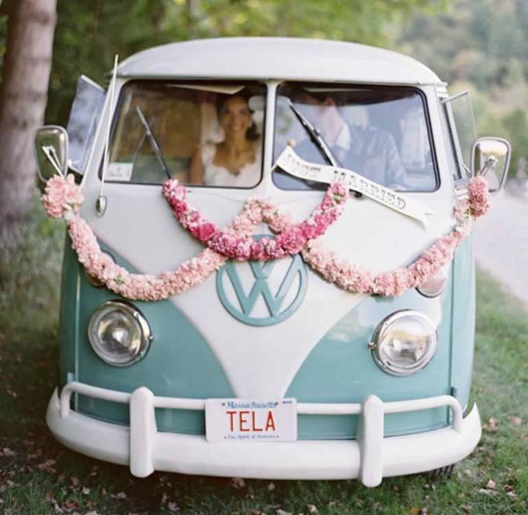 Ceremoniewagens huwelijk