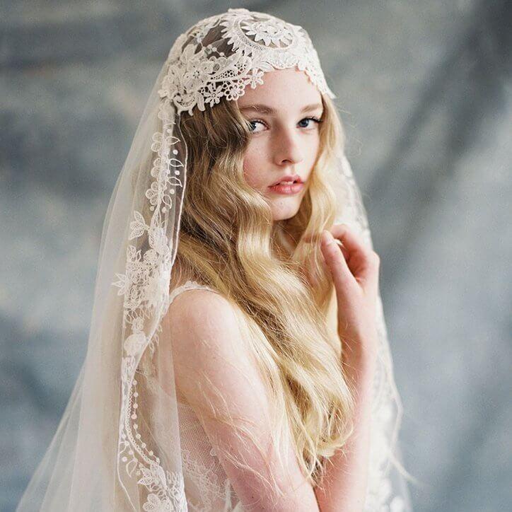 Welke bruidssluier