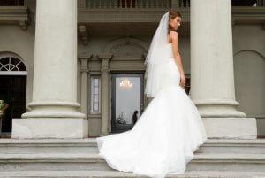 Vingertop bruidssluier