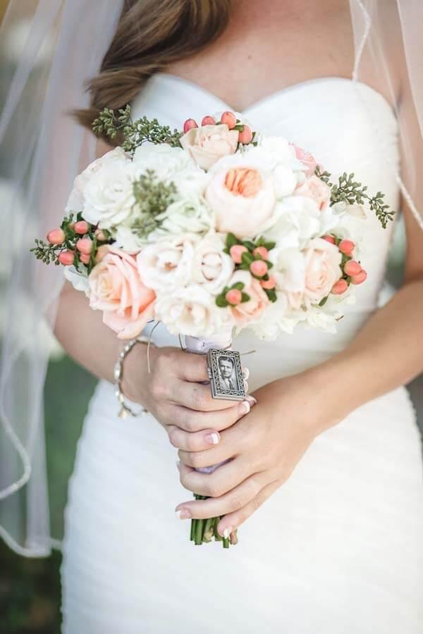 herinnering bruidsboeket