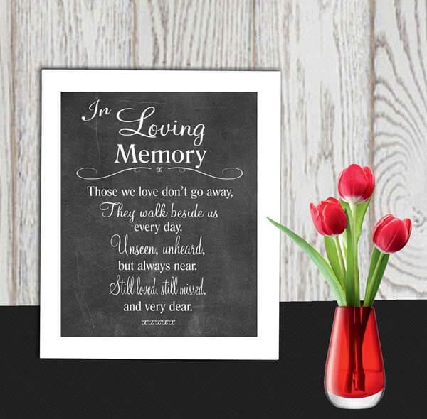 Memory bord bruiloft
