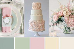 Kleurenthema-bruiloft-zacht-groen-roze