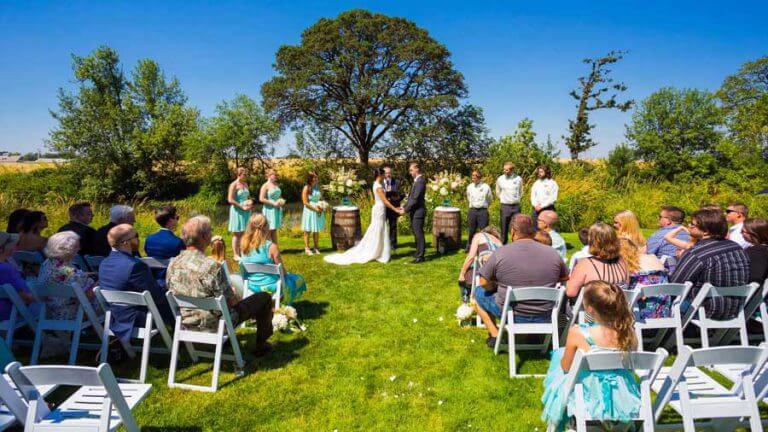 Een prive trouwlocatie oude schuur of tuin de jouwe maken