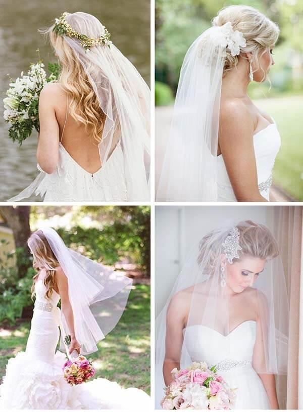 Stijlen bruidssluiers
