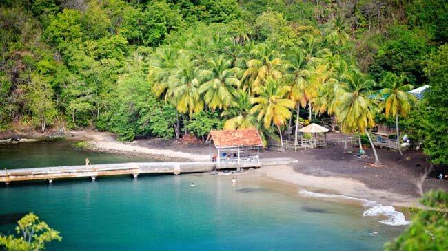 Huwelijksreis Martinique