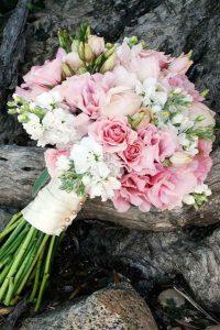 Bloemen voor bruidsboeket