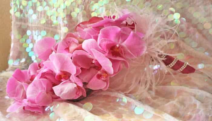 Bruidsboeket Phaleanopsis orchidee