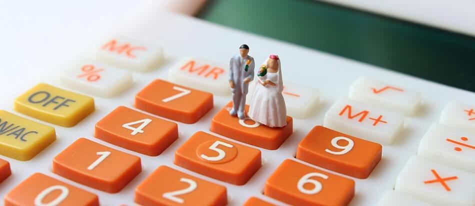 Het huwelijksbudget bepalen