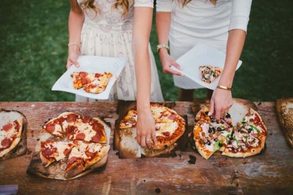 10 leuke manieren om fastfood te serveren op je bruiloft