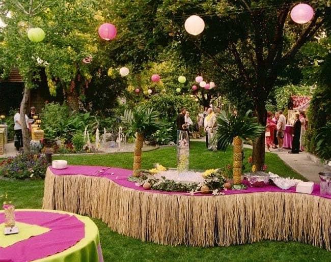 Zomer bruiloft kleuren