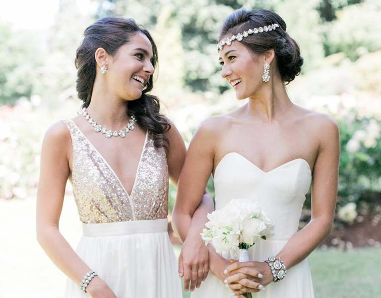 Welke sieraden bij je bruidsjurk