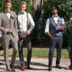 trouwpak match bruid trouwjurk