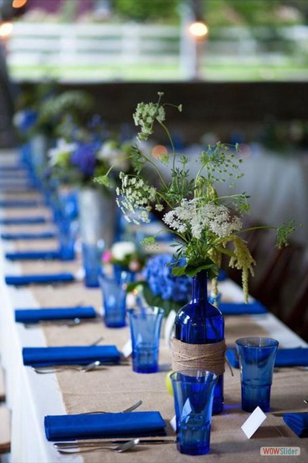 Decoraties tafels huwelijk