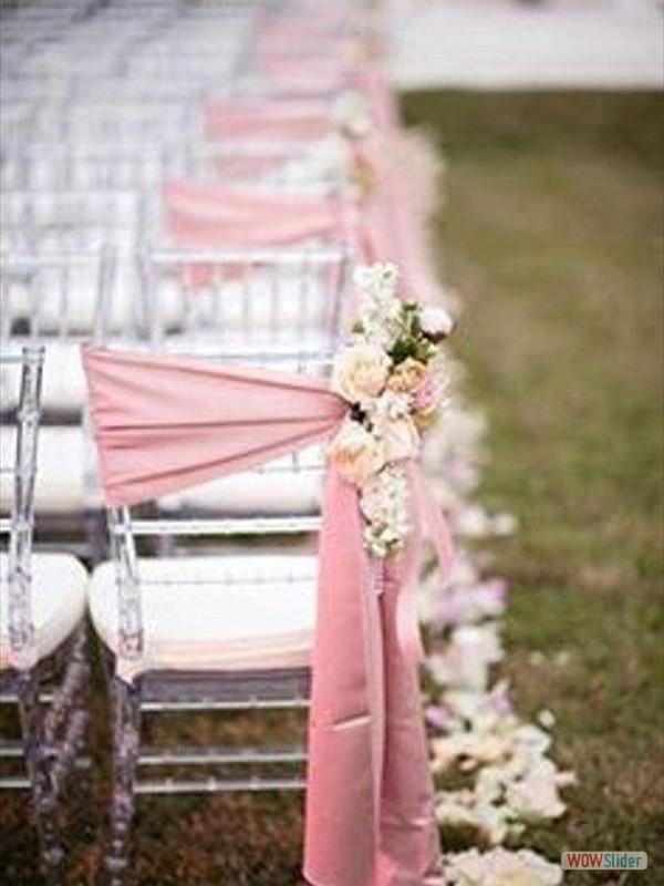 Stoeldecoraties huwelijk