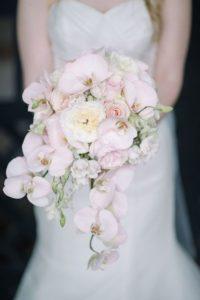 Bruidsboeket orcheideen