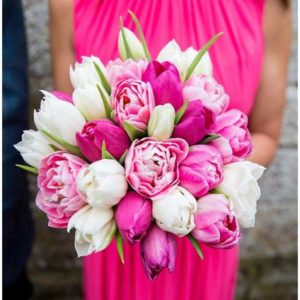 Bruidsboeket-Tulpen