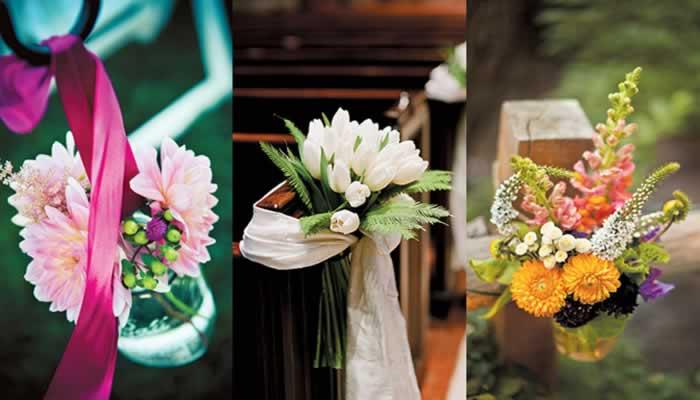 Wonderbaarlijk Decoraties voor de huwelijksceremonie JM-77