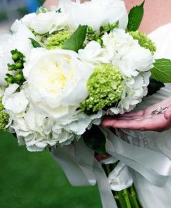 Bruidsboeket-hortensia