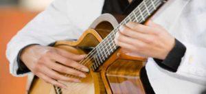 Muziek-huwelijksceremonie