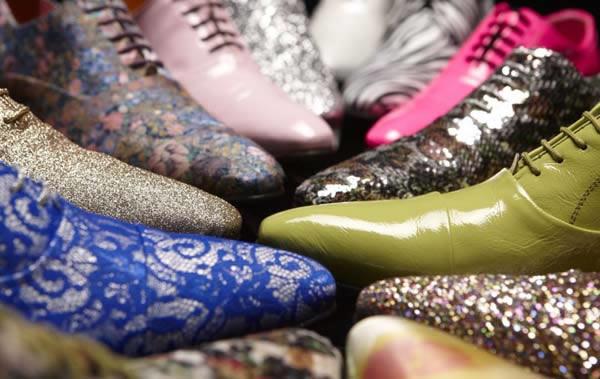 Trendy schoenen bruidegom