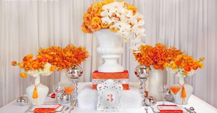 Thema-bruiloft-kleur