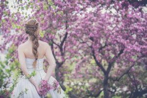 Bloemen tips lente bruiloft
