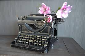 Typmachine als gastenboek